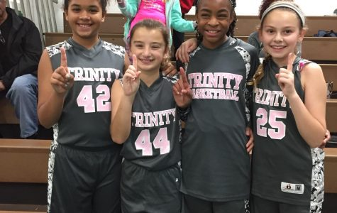 Trinity Girls Go Undefeated in 3 on 3 Tournament!