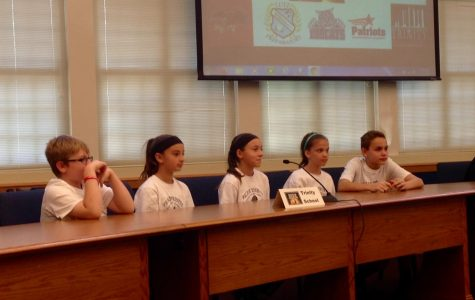 Trinity Competes In District Charter Middle School Book Battle II
