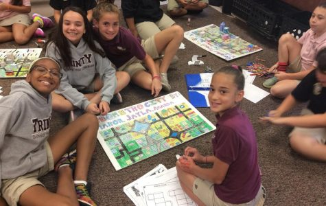 5th Grade Students Use Geometry To Build A City!