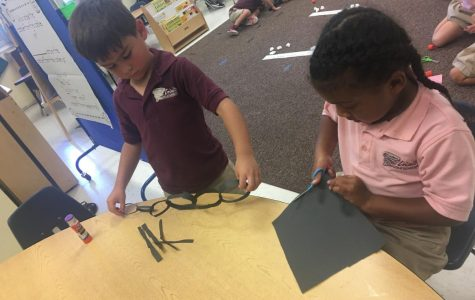 Learning To Compare Numbers In Ms. Eboni's Class