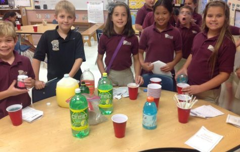 Fourth Grade Experiments With Ms. Lindsay!