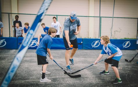 Tampa Bay Lightning Organization Spends The Day At Trinity!