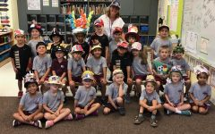 Kindergarten's 'All About Me' Hat Parade