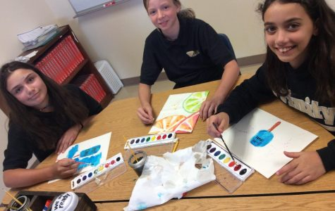 Watercolor and Calligraphy Club