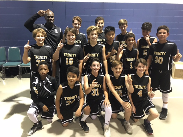 JV Boys Basketball Team Wins TCAL Championship!