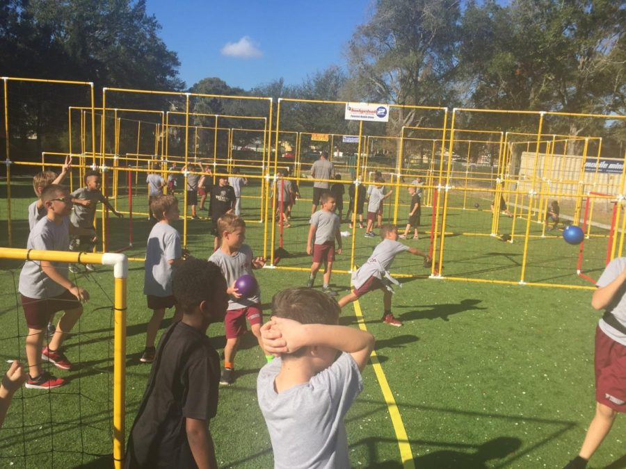PE's Dodgeball Unit Is A 'Hit' With The Students!