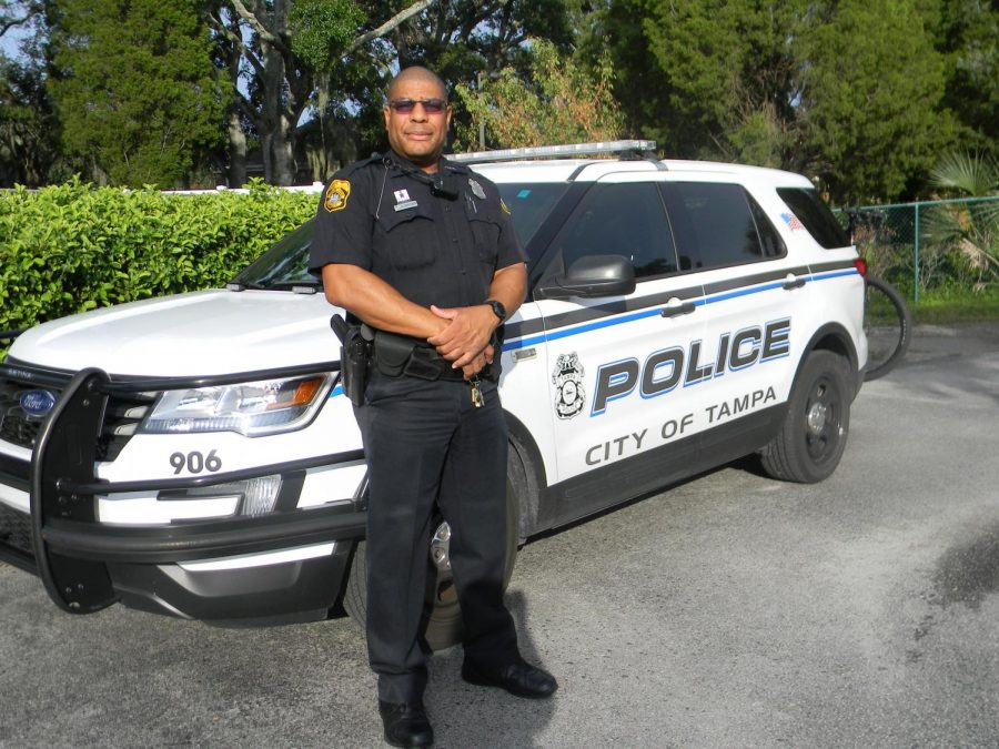 Security Resource Officer Gig Brown