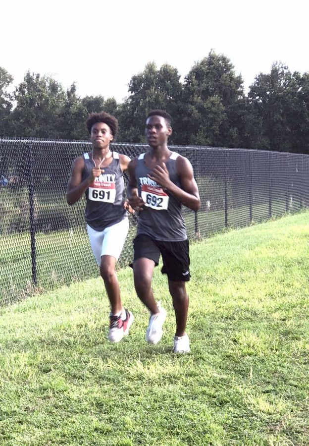 Trinity Tornado Cross Country Team Sweeping through Qualifier