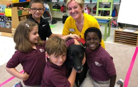 1st & 6th Grades Partnering to Help the Humane Society