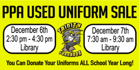 PPA Used Uniform Sale!