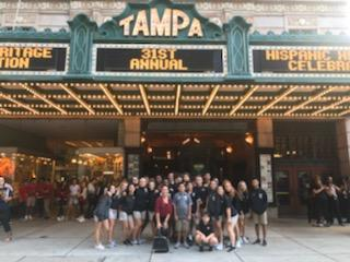 Spanish 1 Attending Spanish Heritage Celebration at Tampa Theatre