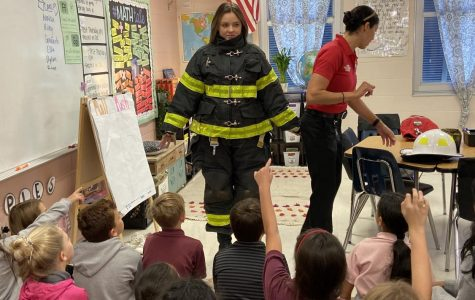 Ms. Lindsay is geared up to put out fires :-)
