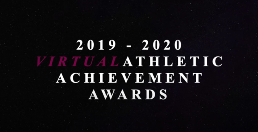 2019-2020 VIRTUAL Athletic Achievement Awards Night 3